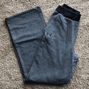 Under Armour Black/Gray sweatpants. Size small